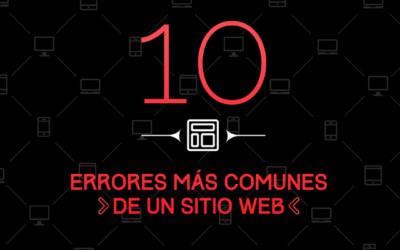 Los 10 errores más comunes al crear una Página web