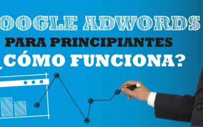Publicidad: Adwords para principiantes, cómo funciona.