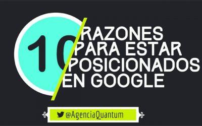 10 Razones para mejorar el posicionamiento de tu web en Google