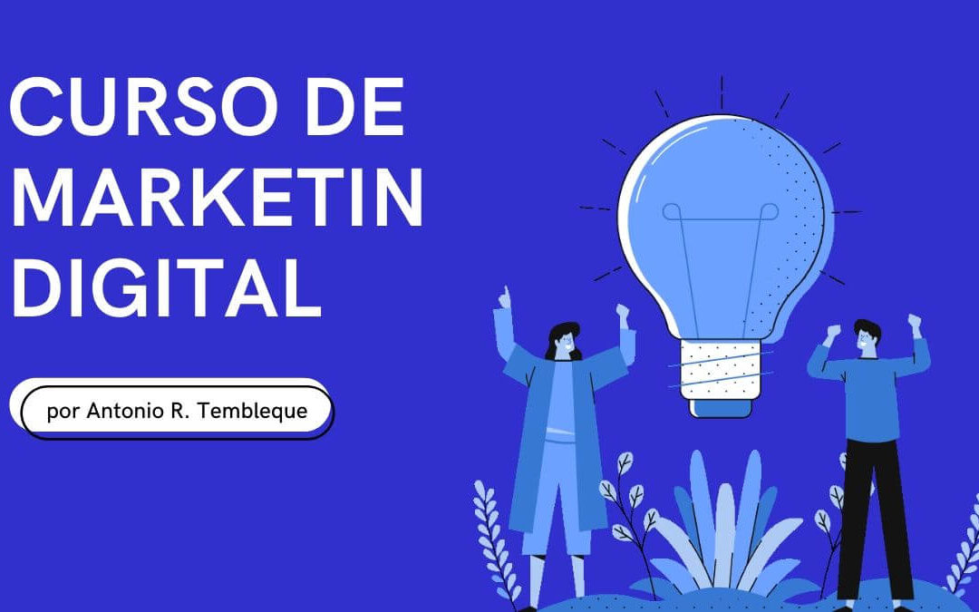 Curso de Marketing Digital, Venta en Línea y Redes Sociales